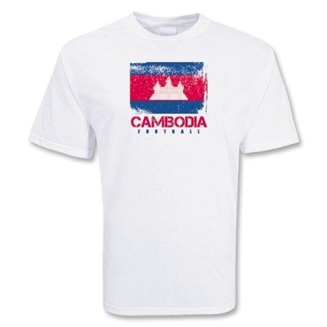Cambodia Football T-shirt