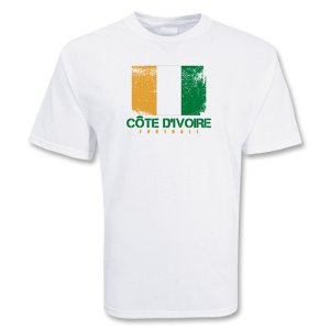 Cote D\'ivoire Football T-shirt