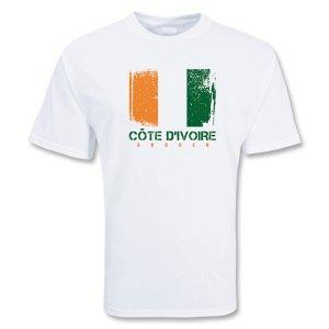 Cote D\'ivoire Soccer T-shirt
