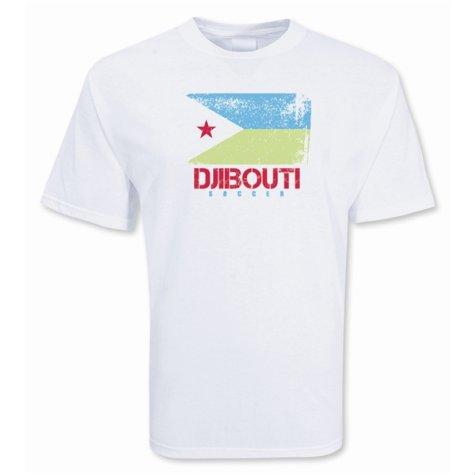 Djibouti Soccer T-shirt