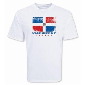 Dominican Republic Soccer T-shirt