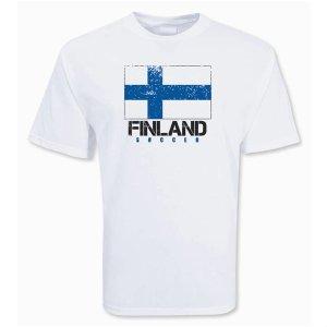 Finland Soccer T-shirt