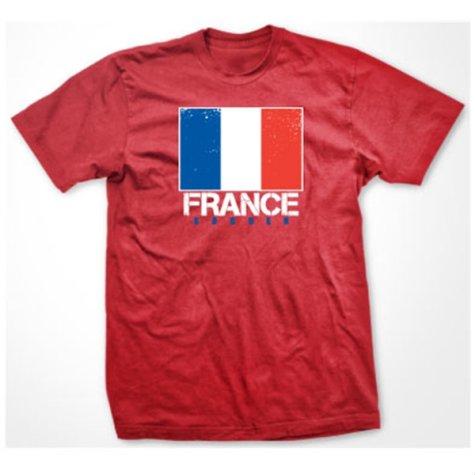 France Soccer T-shirt (red)