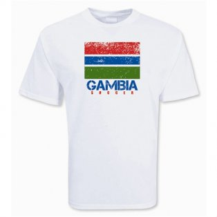 Gambia Soccer T-shirt