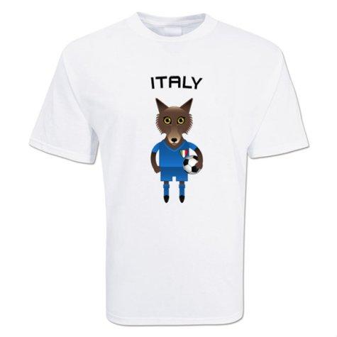 Italy Mascot Soccer T-shirt