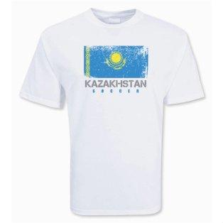 Kazakhstan Soccer T-shirt
