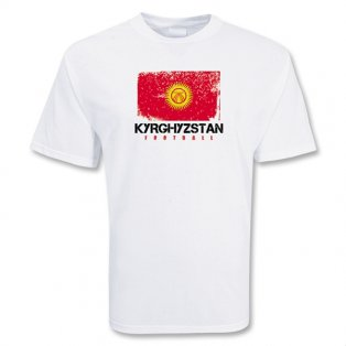Kyrgyzstan Football T-shirt