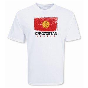 Kyrgyzstan Soccer T-shirt