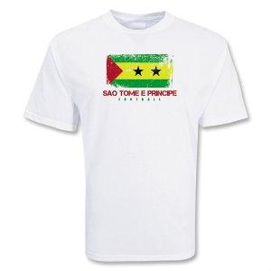 Sao Tome E Principe Football T-shirt