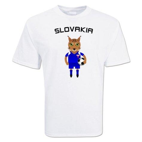 Slovakia Mascot Soccer T-shirt