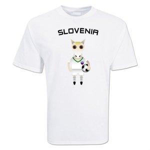 Slovenia Mascot Soccer T-shirt