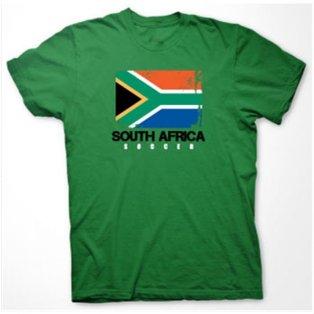 South Africa Soccer T-shirt (green)