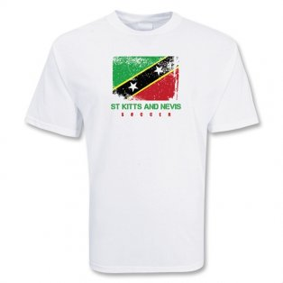 St Kitts And Nevis Soccer T-shirt