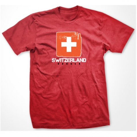 Switzerland Soccer T-shirt (red)