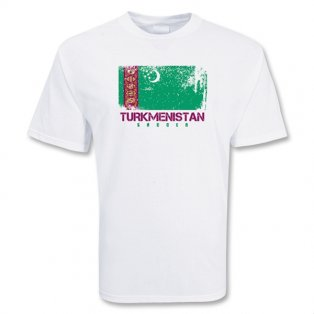 Turkmenistan Soccer T-shirt