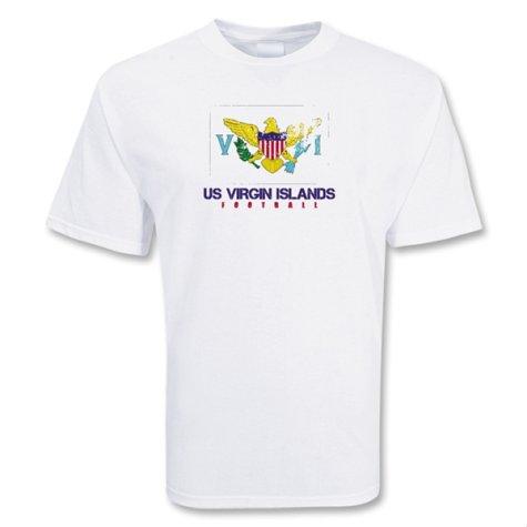 Us Virgin Islands Football T-shirt