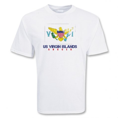 Us Virgin Islands Soccer T-shirt