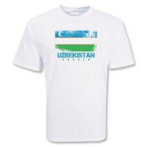 Uzbekistan Soccer T-shirt
