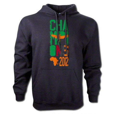 2012 Zambia Winners Hooded Top