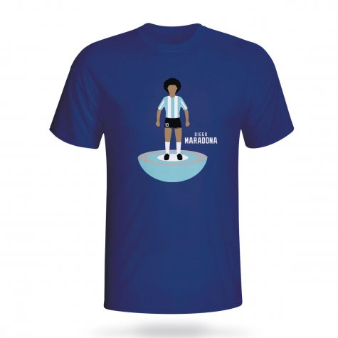 Diego Maradona Argentina Subbuteo Tee (navy) - Kids