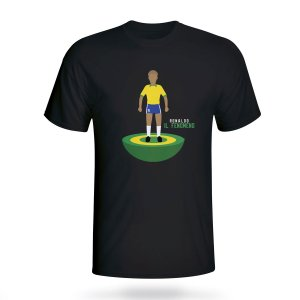 Ronaldo Brazil Subbuteo Tee (black)