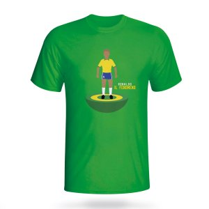 Ronaldo Brazil Subbuteo Tee (green)