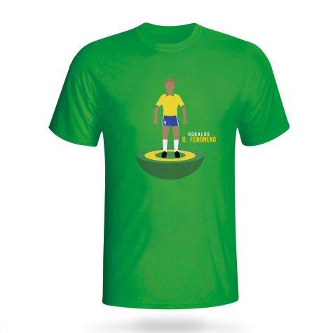 Ronaldo Brazil Subbuteo Tee (green) - Kids