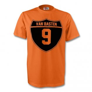 Marco Van Basten Holland Crest Tee (orange) - Kids