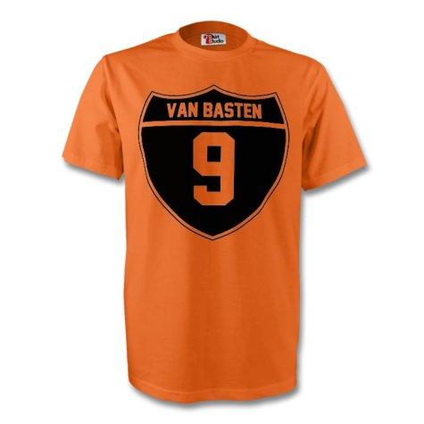 Marco Van Basten Holland Crest Tee (orange) - Kids