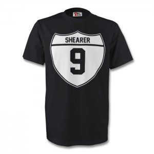Alan Shearer Newcastle Crest Tee (black)