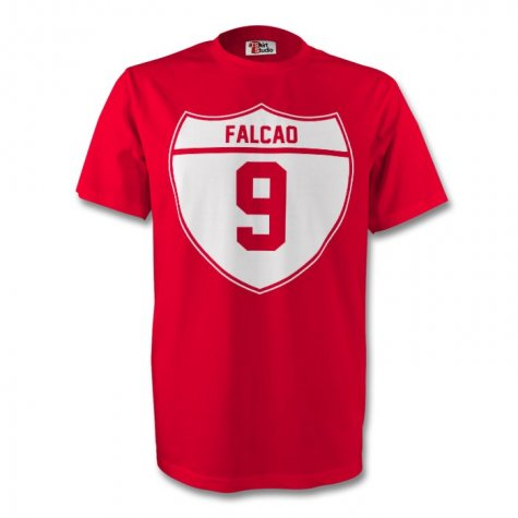 Radamel Falcao Man Utd Crest Tee (red)