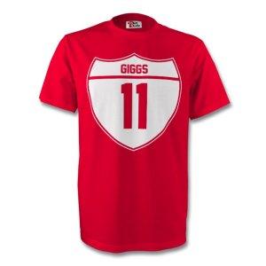 Ryan Giggs Man Utd Crest Tee (red)