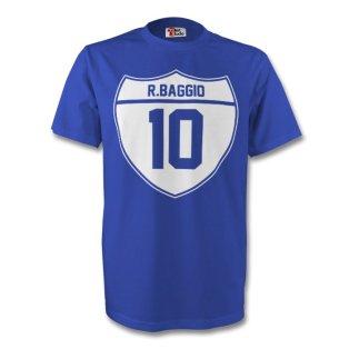 Roberto Baggio Italy Crest Tee (blue)