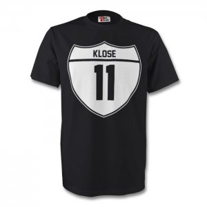 Miroslav Klose Germany Crest Tee (black)