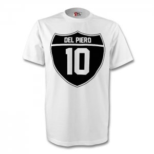 Alessandro Del Piero Juventus Crest Tee (white)