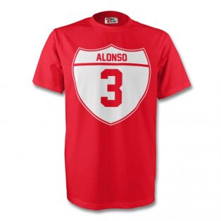 Xabi Alonso Bayern Munich Crest Tee (red) - Kids