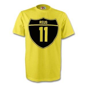 Marco Reus Borussia Dortmund Crest Tee (yellow) - Kids