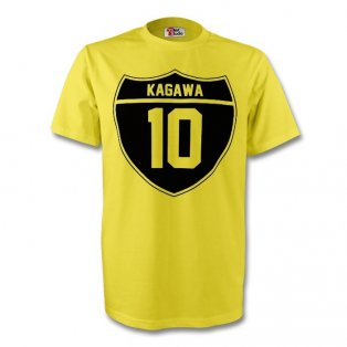 Shinji Kagawa Borussia Dortmund Crest Tee (yellow) - Kids