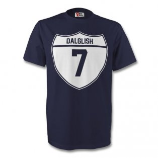 Kenny Dalglish Scotland Crest Tee (navy) - Kids