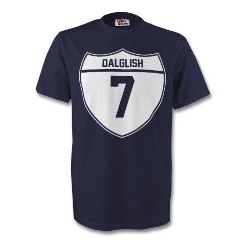 Kenny Dalglish Scotland Crest Tee (navy)