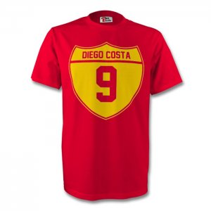Diego Costa Spain Crest Tee (red)