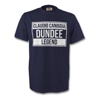 Claudio Caniggia Dundee Legend Tee (navy) - Kids