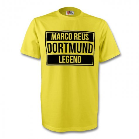 Marco Reus Borussia Dortmund Legend Tee (yellow) - Kids