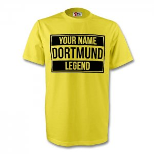 Your Name Borussia Dortmund Legend Tee (yellow) - Kids