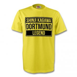 Shinji Kagawa Borussia Dortmund Legend Tee (yellow) - Kids