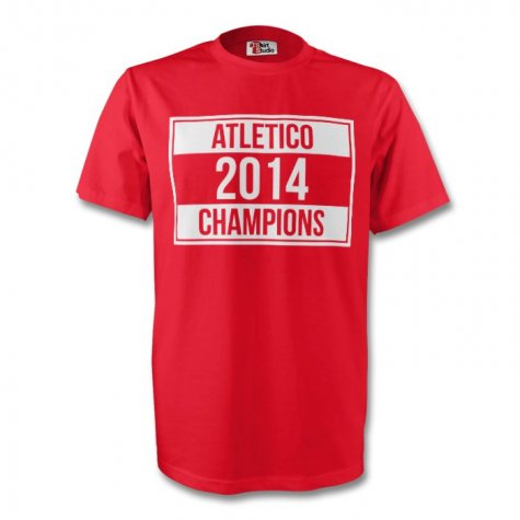 Atletico Madrid 2014 Champions Tee (red)