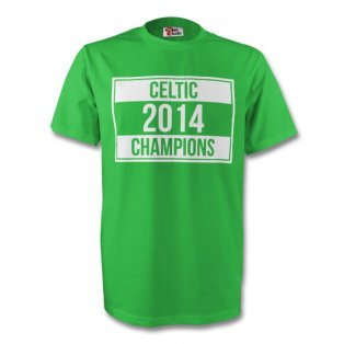 Celtic 2014 Champions Tee (green) - Kids
