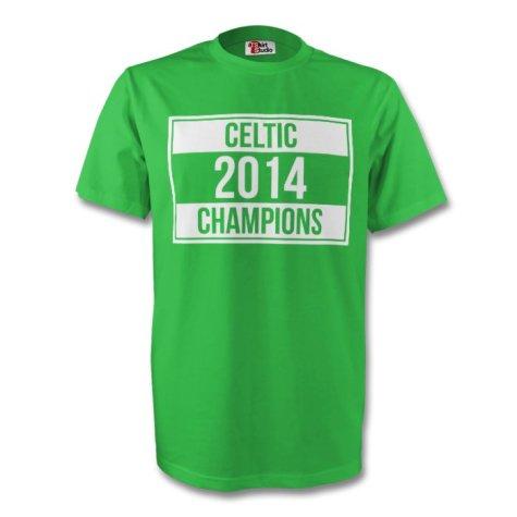 Celtic 2014 Champions Tee (green) - Kids