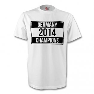 Germany 2014 Champions Tee (white) - Kids