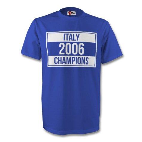 2006 Champions Tee (blue)